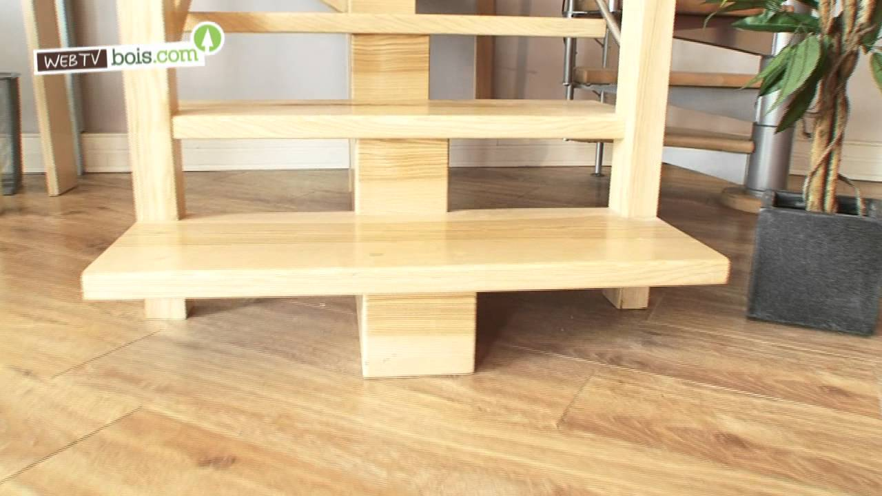 choisir un escalier en bois youtube. Black Bedroom Furniture Sets. Home Design Ideas