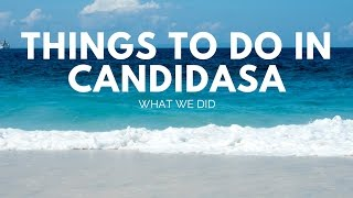 Things To Do In Candidasa: What We Did