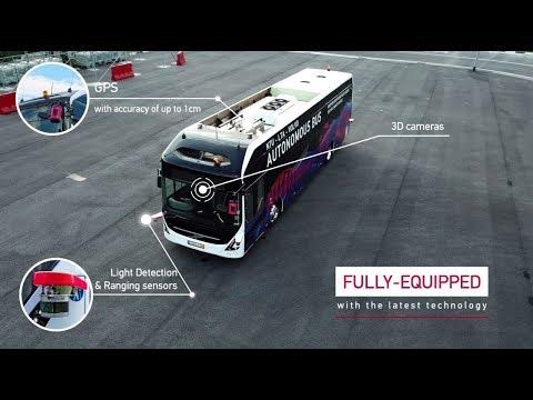 .VOLVO 推世界首款全尺寸自動駕駛電動巴士