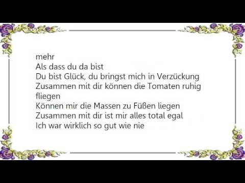 Herbert Grönemeyer Total Egal Lyrics Youtube