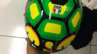 agv helmet k3sv tartaruga unboxing