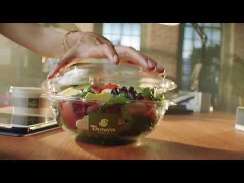 Panera Delivers - Fresh salads