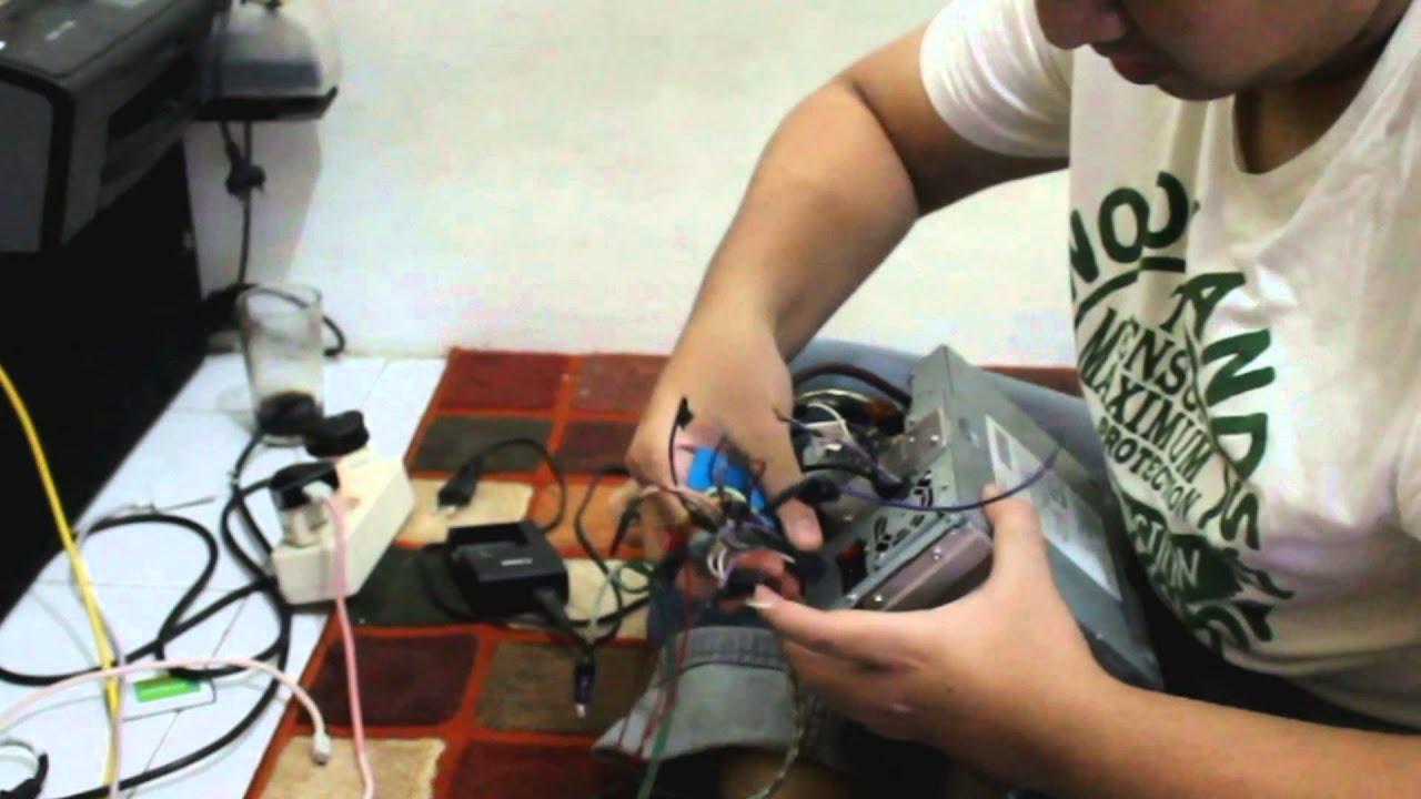 Kenwood DDX4033 support camera reversed
