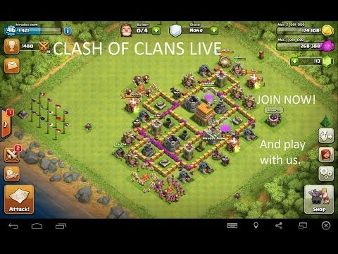 Clash of Clans online live Gameplay #118 [20151220]