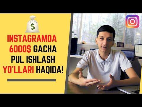 Instagramda PUL ISHLASH 2020! | O'z PROFILINGIZDA 6000$ Gacha PUL Toping! - Instagram Sirlari!