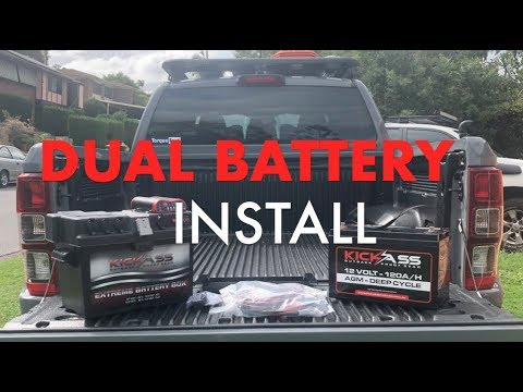 HOW TO - Dual Battery Install - EASY
