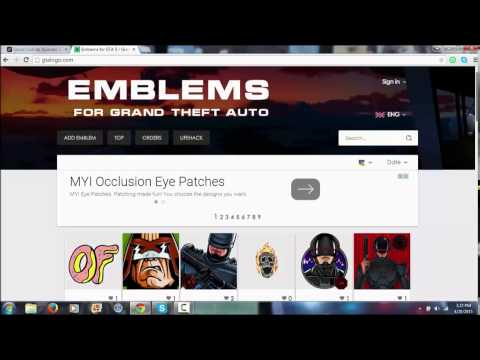 GTA 5 Online: Upload Crew Emblems To GTA Online After Patch 1 13