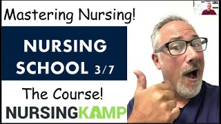 Lecture Tips for NCLEX and Nursing School Nursing KAMP ASLEAPPS How to Look at Medical Content