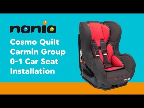 Installation Guide For Cosmo - Group 0-1 Car Seat | Smyths Toys