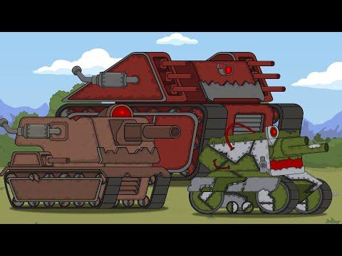Все серии: Безумный ученый и его стальные монстры-Мультики про танки