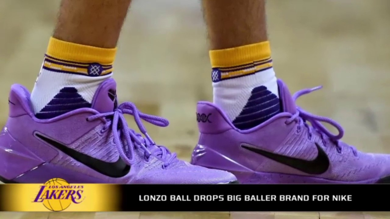 Lavendar Basketball Shoes