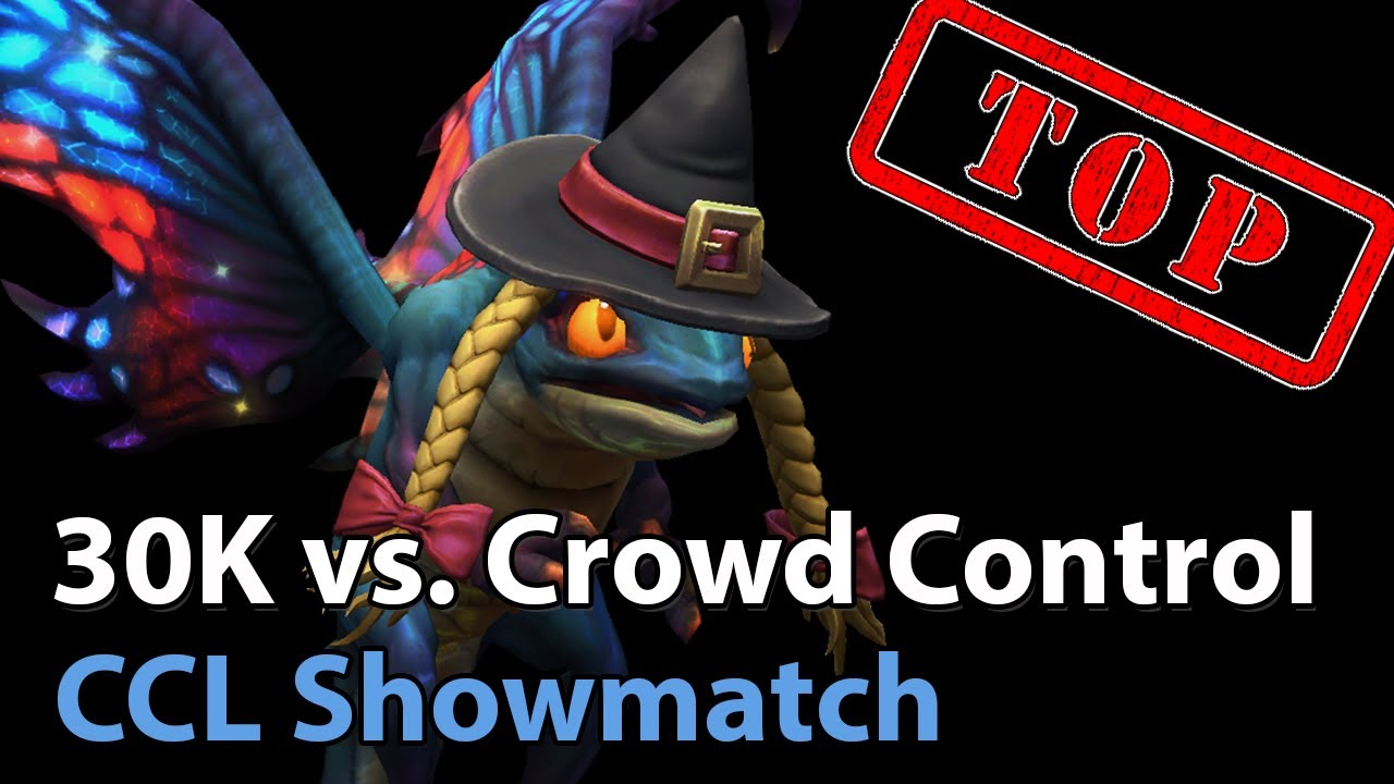 ► CCL Showmatch: 30K vs. Crowd Control - Heroes of the Storm Esports