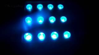 Светодиодный прожектор, 12 LED, 36W, RGB(Купить прожектор http://svetzavod.ru/product/led-prozhektor-12-led-36w-rgb/ (арт.SLP-1001) Световой светодиодный прожектор точечный, угол..., 2014-10-06T19:19:43.000Z)
