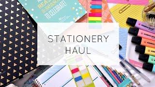 HUGE Stationery Haul! [2017]