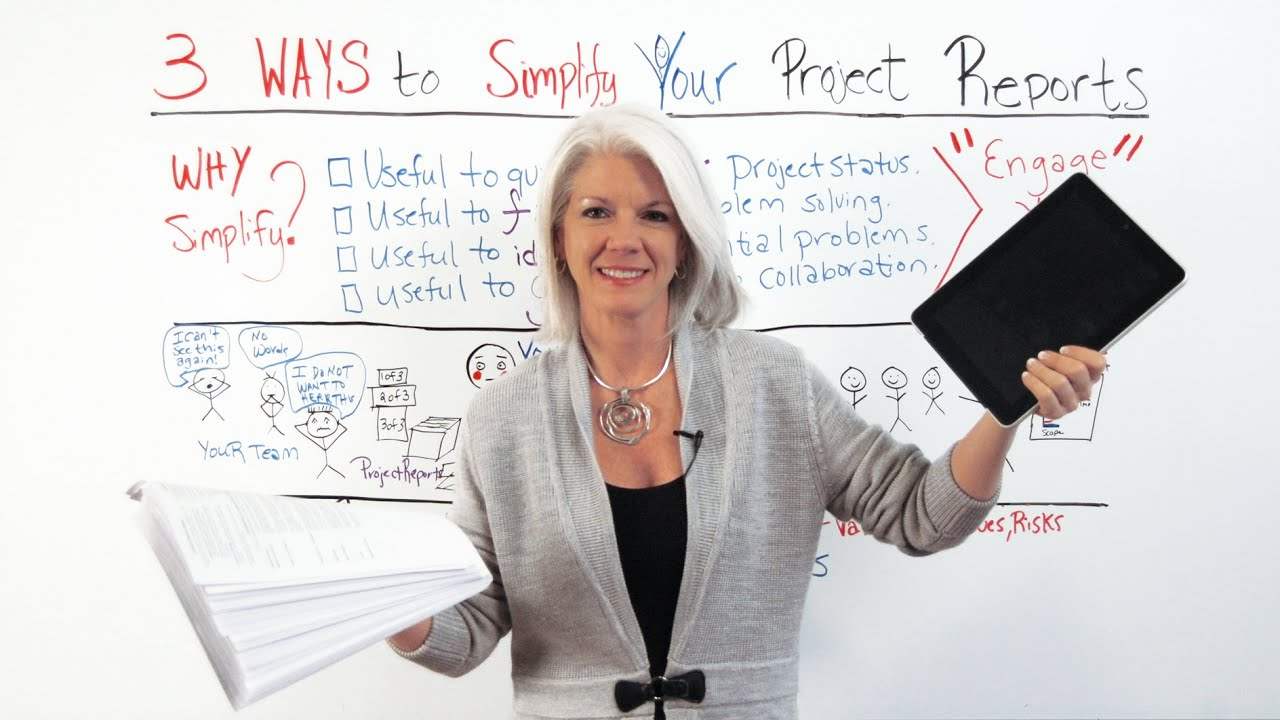 How to Simplify Your Project Reports