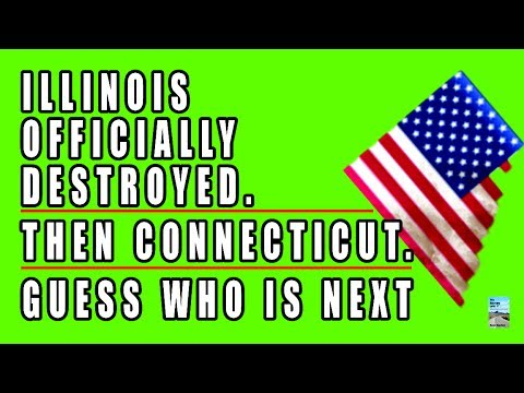 Illinois Is Now GUARANTEED to COLLAPSE! Haircuts to Pensions Could Happen!