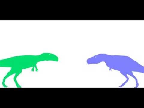 nedft 31 Zhuchengtyrannus vs Mapusaurus