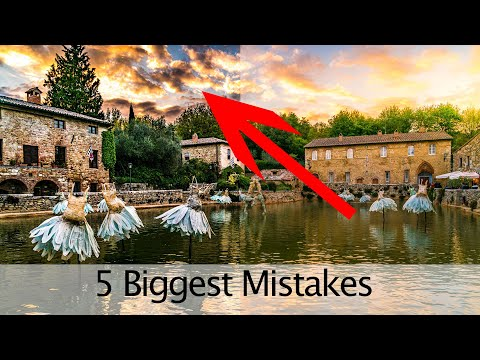 The 5 Biggest Mistakes in Editing in lightroom!