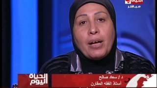 بالفيديو.. سعاد صالح توجه رسالة لزوجة الشهيد عادل رجائي