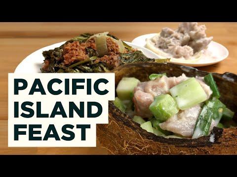 Polynesian Feast! Lu Pulu, Haka Talo, and Ota Ika (Tongan Ceviche!) – KAOTW Episode 011