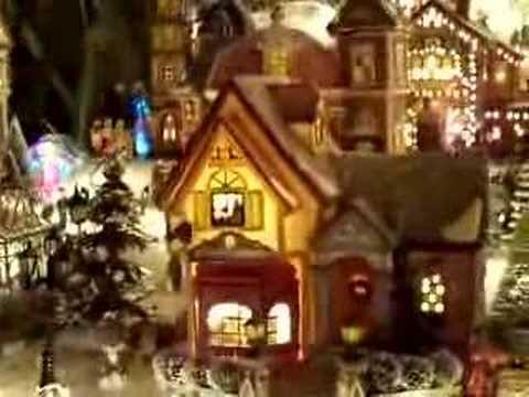 Villa navide a por ricardo bula williams youtube for Villas navidenas de porcelana