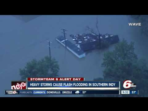FLOODING an issue in Southern Indiana; more storms expected today