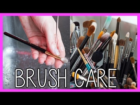 Brush Care: How to Clean & Maintain Your Makeup Brushes