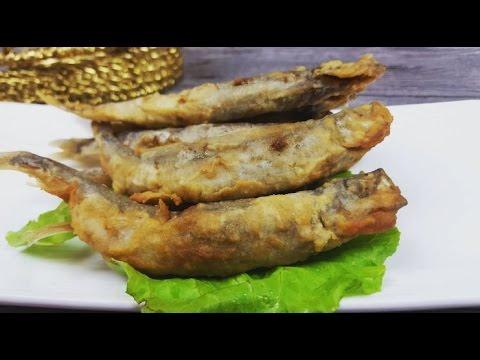 Crispy Smelt Fish  (脆皮冶炼鱼)