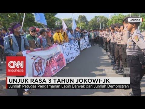 Unjuk Rasa 3 Tahun Jokowi-JK