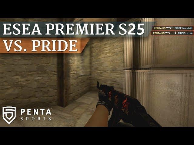 ESEA Premier Season 25 Europe: PENTA Sports VS. PRIDE