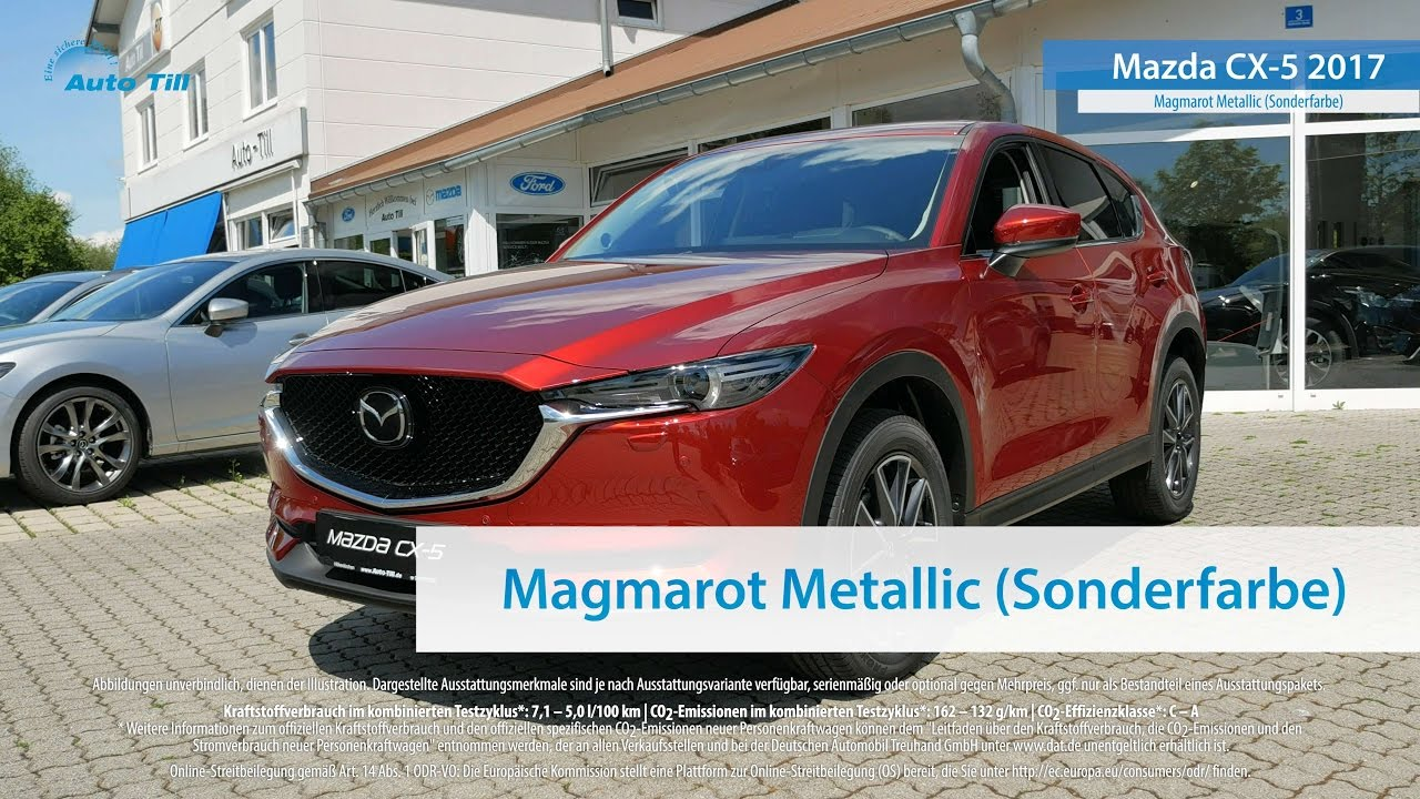 mazda cx-5 2017 magmarot metallic 4k (uhd) - youtube