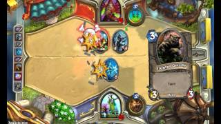 Hearthstone Battle (Me vs my Friend)