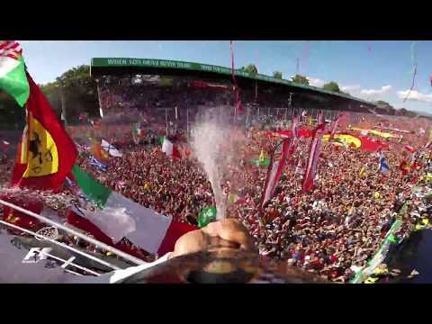 Hamilton's Unique View From The Monza Podium | 2017 Italian Grand Prix