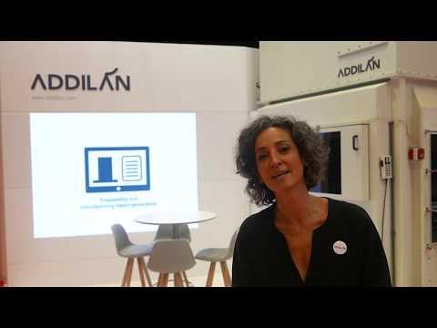 <p>Présentation de la Machine Addilan à l'occasion de la BIEMH 2018 par Amagoia Paskual, gestionnaire d'Addilan (espagnol)</p>