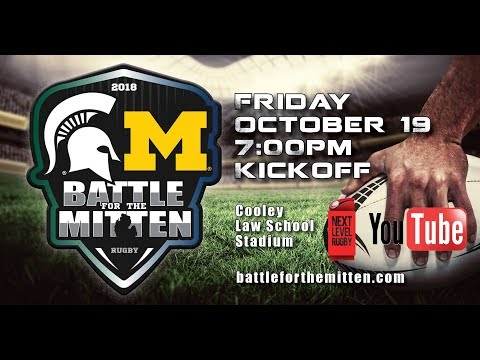 Battle For The Mitten: Michigan vs. Michigan State Rugby