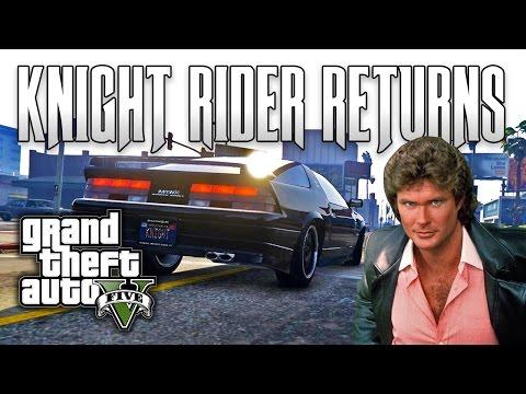 GTA V PC E04 - Knight Rider Returns (Mod)