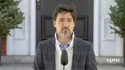 PM Trudeau on extension of border restrictions; aid for Indigenous businesses – April 18, 2020