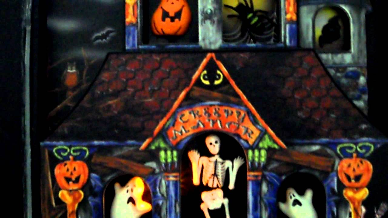 monster mash animated singing halloween book - youtube