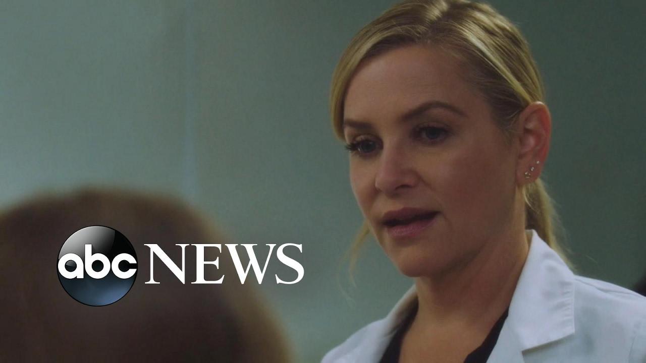 Grey\'s Anatomy Star Jessica Capshaw Dishes on New Season - YouTube