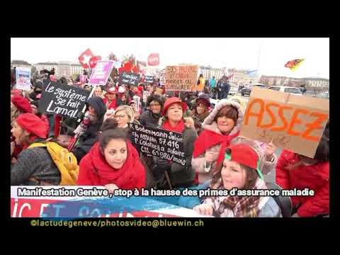 Assurances Maladie manifestation Genève
