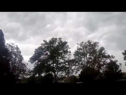 8-26-2014 Livonia, MI Severe Thunderstorm Warning