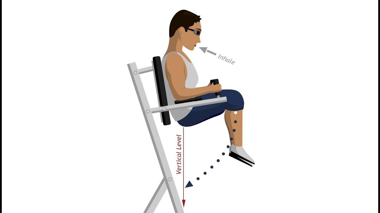 Beinheben am Roman Chair  Bauchmuskelbungen  YouTube