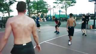 New York , США , стритбол