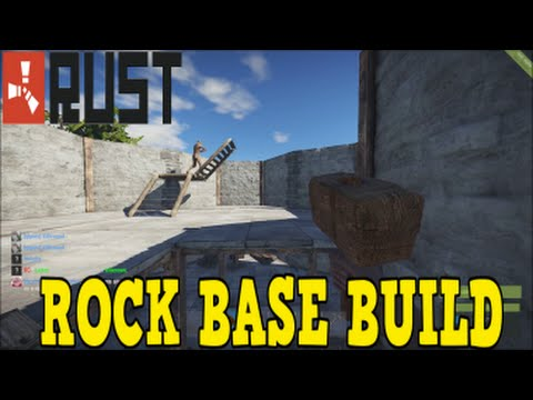 how to youtubers build bases to show on rust