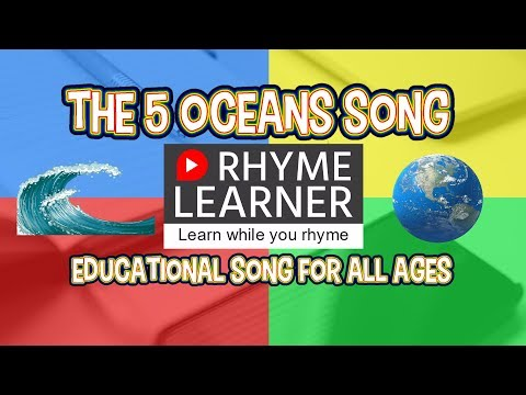 The 5 Oceans Song