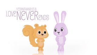 """Gambar cover Bible Verses for KIDS! on """"God's Love"""" by Jack & Scarlett"""
