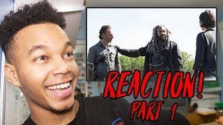 "The Walking Dead Season 8 Episode 1 ""Mercy"" REACTION! (Part 1)"