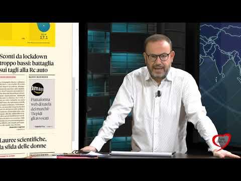 I giornali in edicola - la rassegna stampa 22/02/2021