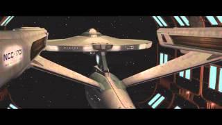 Enterprise Leaving Drydock (VideoSpaceFX Production - Alt. Music - No SFX)