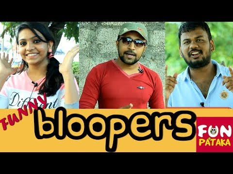 FunPataka BLOOPERS In Intro and Outro | Telugu Funny Pranks | Pranks in Hyderabad | Pranks in India